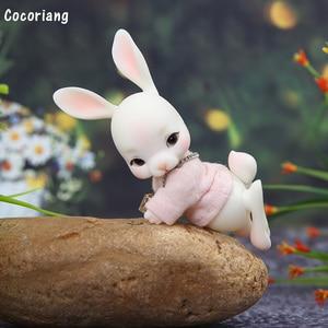 Image 3 - בגדי BJD 1/12 רק עבור Cocoriang Tobi ורוד T חולצה מתוק חיות מחמד הלבשה YF12 383