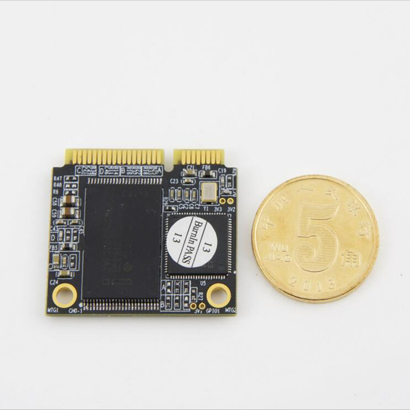 Envío Gratis mSATA SSD 60 GB 120 GB 256GB 512 GB medio tamaño mSATA Mini SATA 3 SSD Disco Duro HDD mini computadora portátil ASUS DELL