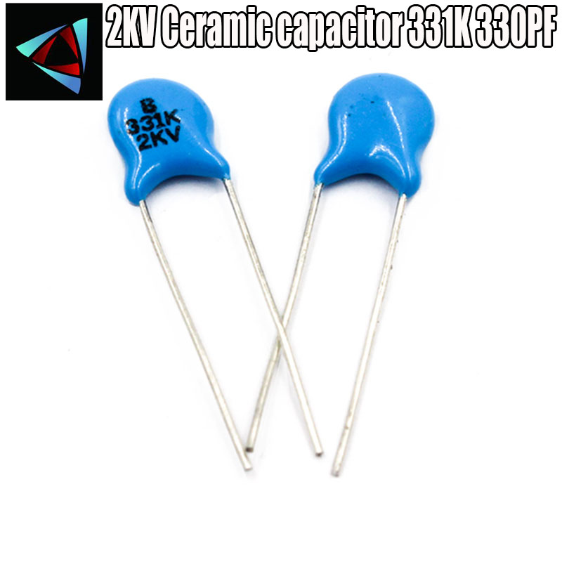 2KV high voltage ceramic–ref: 450 330pF 0n33 4 x pieces 331K