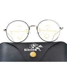 f98f8b7b9c Gafas de sol de transición multifocales progresistas gafas de lectura  fotocrómicas para hombre puntos para lector cerca de Far s.