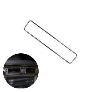 For BMW 3 Series E90 E92 E93 2005 - 2011 2012 Carbon Fiber Car Interior Center Control Air Conditioning Air Outlet Vent Cover