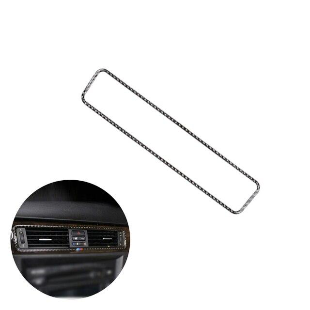 For BMW 3 Series E90 E92 E93 2005   2011 2012 Carbon Fiber Car Interior Center Control Air Conditioning Air Outlet Vent Cover