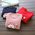 Girls and boys with cashmere sweater Christmas 2016 new winter Korean children baby cashmere Turtleneck Shirt thickening