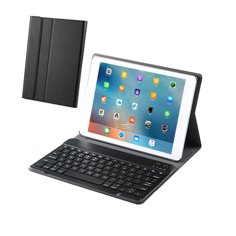 Mini Wireless Bluetooth Keyboard Smart Wake/sleep Stand Case For IPad 2 3 4 Air 1 2 Mini 1 2 3 4 New 2017 2018 Pro 9.7 10.5 Inch
