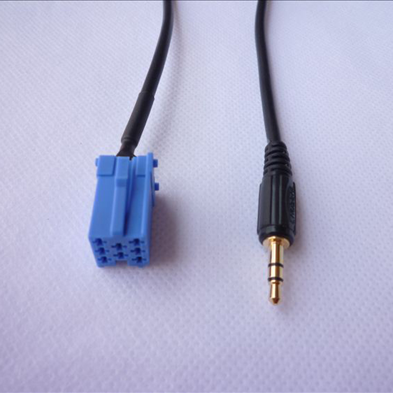 AUX Input Lead 3 5mm Jack Car radio MP3 Auxiliary Adapter For iPod iPhone 5 6 aux input lead 3 5mm jack car radio mp3 auxiliary adapter for ipod Basic Electrical Wiring Diagrams at pacquiaovsvargaslive.co