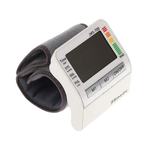 JDS-700 Portable Human Body Helath Monitor Digital Wrist Type Blood Pressure Monitor Blood Pressure Measurement Hot Selling