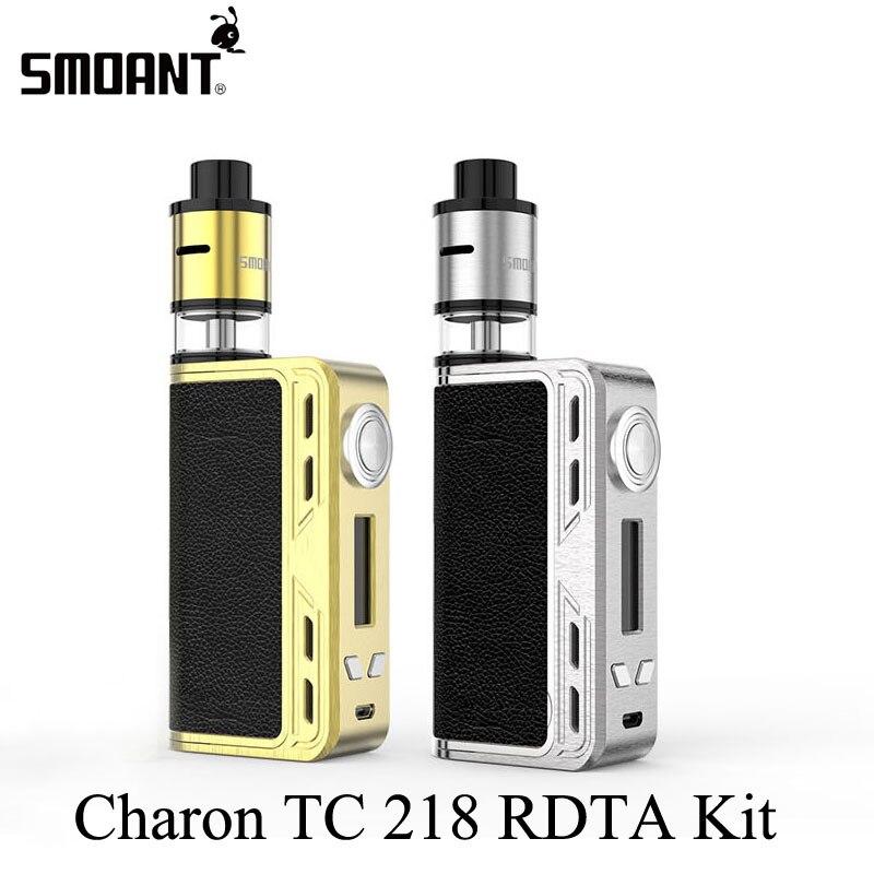 Electronic Cigarette Smoant Charon TC RDTA Kit Vape Box Mod E Hookah