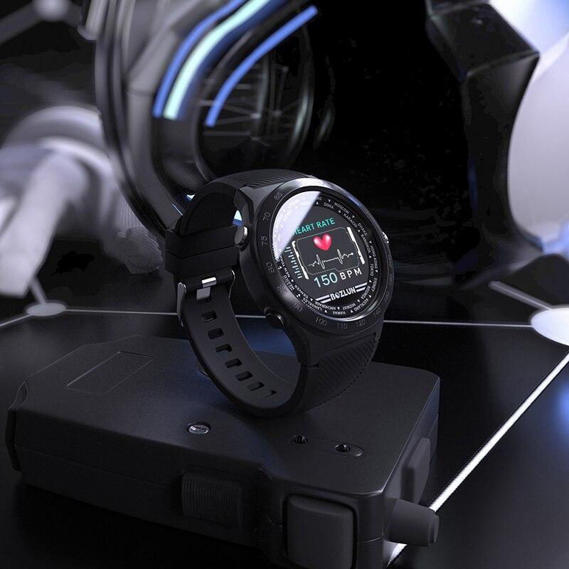 SKMEI W31 Interface UI montre homme Sport Fit femmes espagnoles robe montre bracelet fréquence cardiaque moniteur de sommeil rappel sain montres intelligentes - 3