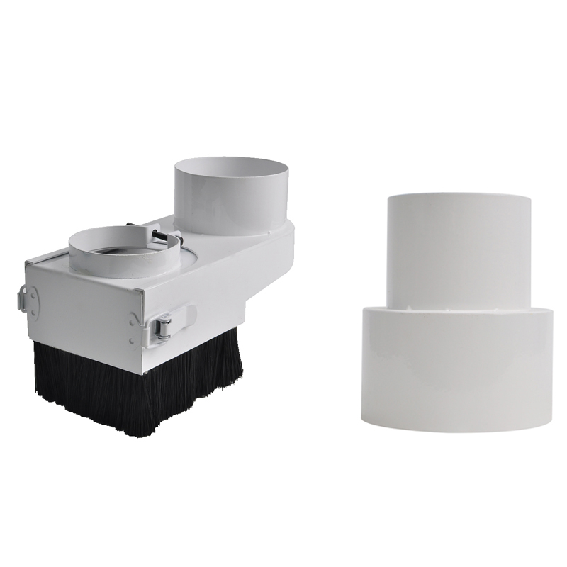 Cnc Dust Cover Collector 80Mm Dust Cover Brush For Cnc Spindle 2.2Kw 1.5Kw Motor Milling Machine Router Woodworking Tools