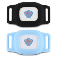 Wireless Waterproof Pet GPS Tracker Dog Cat Adjustment Collar Magnetic Charging For Pet Care Anti missing