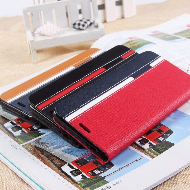 Cubot הערה S המקורי מקרה 3 צבע אופנתי רך TPU + עור PU ארנק כיס מגן במקרה עבור Cubot הערה S עם כרטיס חריצים