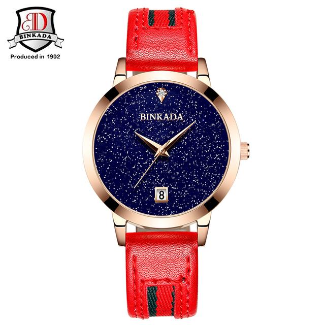 As mulheres Se Vestem Mulheres Relógio Pulseira de Relógios de Moda de Nova Céu Estrela Mulheres de Design Criativo Relógio Moda Feminina Relógio Ocasional