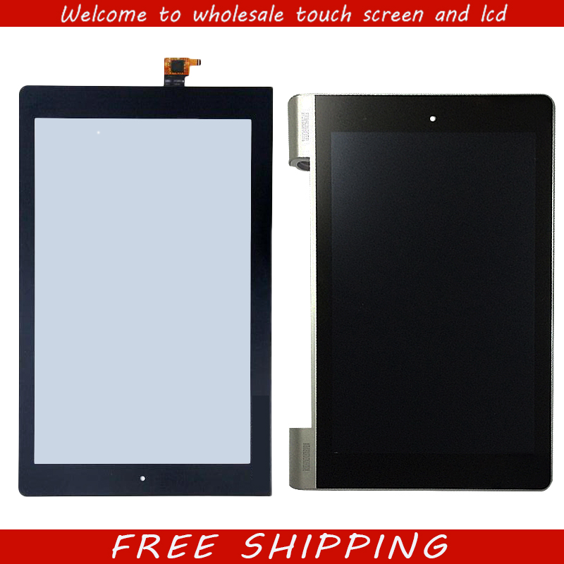For New Touch Screen Digitizer Glass lcd display For Lenovo Yoga 10 B8080 B8080-F B8080-H B8080-HV Black 10.1-inch Free Shipping original and new 10 1inch lcd screen b101uan01 e b101uan01 for lenovo yoga b8080 tablet pc replacement repair free shipping