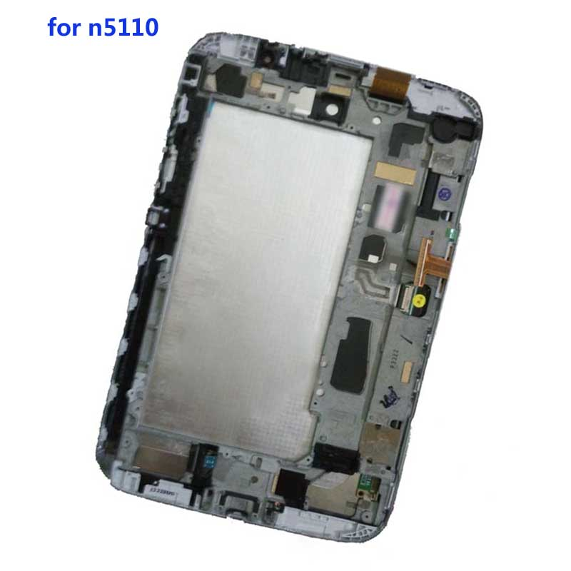 For Samsung Galaxy Note 8.0 GT- N5110 N5110 N5100 Touch Screen Sensor Digitizer Glass + LCD Display Monitor Panel With FrameFor Samsung Galaxy Note 8.0 GT- N5110 N5110 N5100 Touch Screen Sensor Digitizer Glass + LCD Display Monitor Panel With Frame
