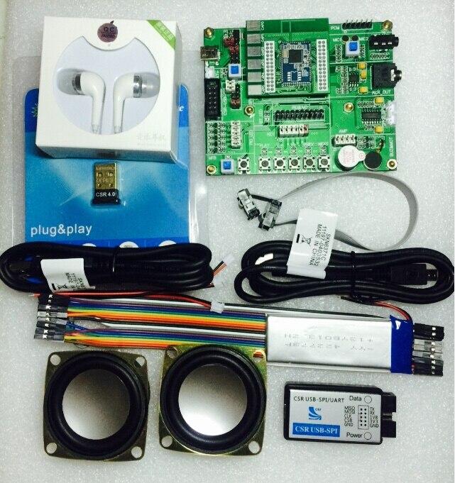 CSR8675 conseil de développement contient USB-SPI-S downloader paquet de soutien ADK4.1/tactile panneau/quatrième génération