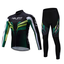 2017 Summer Cycling Sets Cycling Clothing Bike Clothing set Men Bicycle long Sleeve 5D gel pad Quick Dry Cycling Jerseys sets