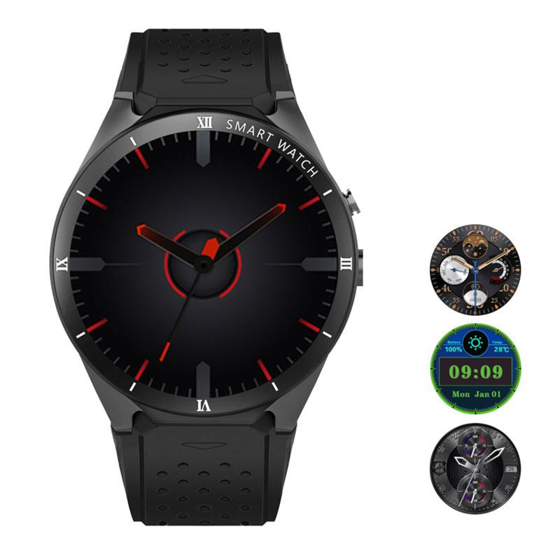 Men Smart Watch KW88 PRO 2MP Camera 1GB RAM 16GB ROM SIM Card 3G WIFI GPS Smartwatch Heart rate monitor Updated version цена