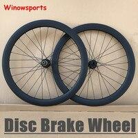 Winowsports колеса углерода 50 мм Глубина 25 мм ширина довод углерода тормозного диска колеса 30 мм 38 мм 50 мм 60 мм 88 мм Велокросс диск колеса
