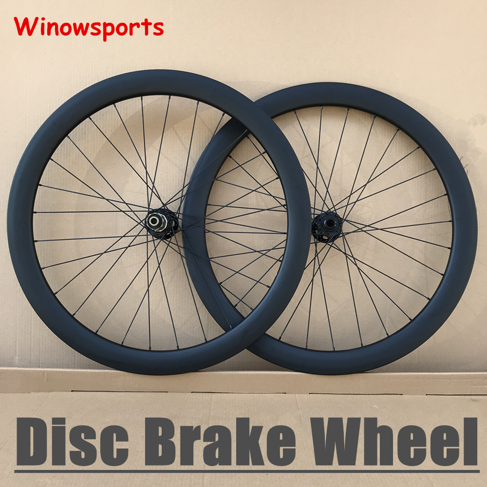 Winowsports carbon wheels 50mm depth 25mm width clincher carbon disc brake wheels 30mm 38mm 50mm 60mm 88mm cyclocross disc wheel цена