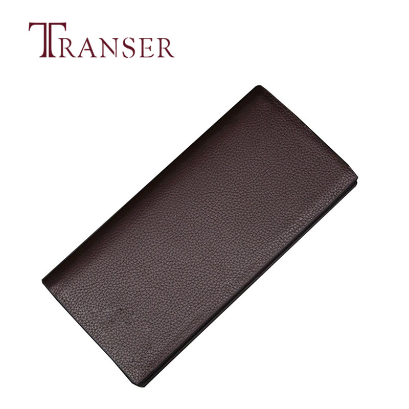 TRANSER Long Business Solid High Quality Famous Designer Man Wallet Leather Concise Money Capacity Purse Card Holder Aug21  bvlriga women wallets famous brand leather purse wallet designer high quality long zipper money clip large capacity cions bags