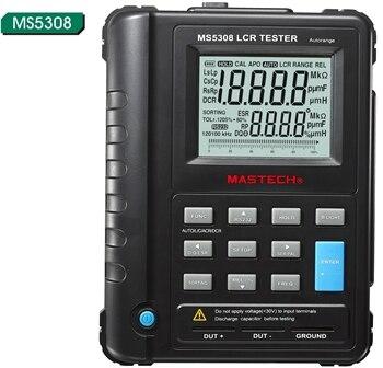 Mastech MS5308 LCR Mètre Portable De Poche Auto-Range LCR Mètre Haute-Performance 100 Khz