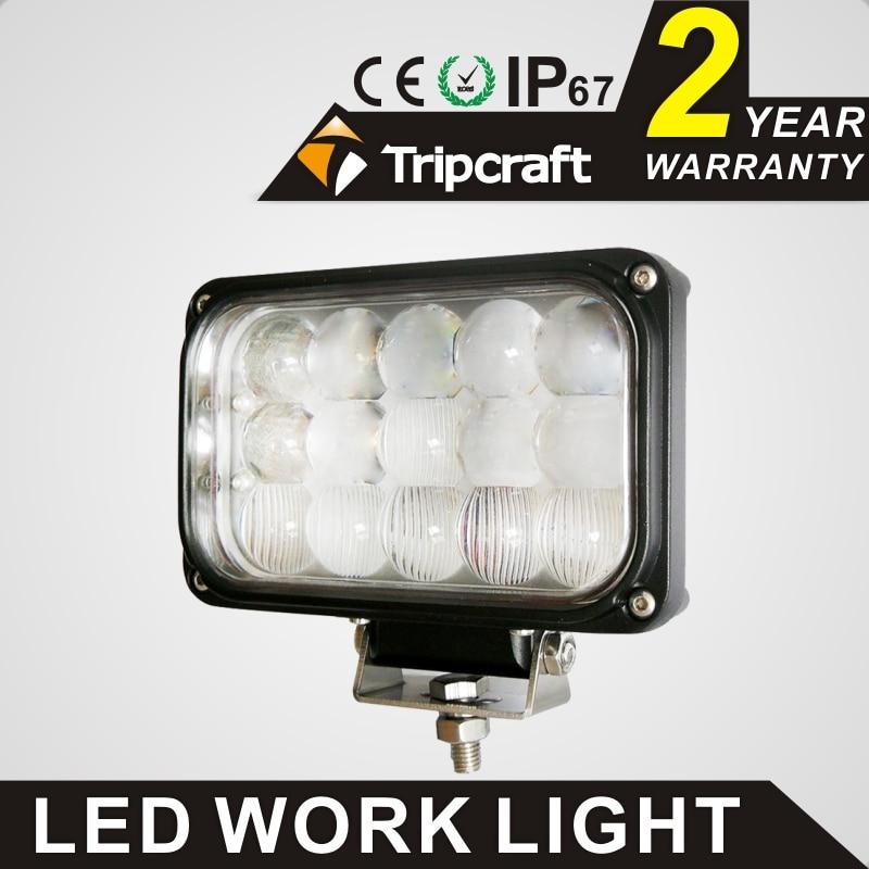ФОТО Free shipping!2PCS 6 inch 45W LED Work Light Lamp Fit led ramp car accessories Off Road 4WD 4x4 Truck SUV ATV 10V 30V fog light