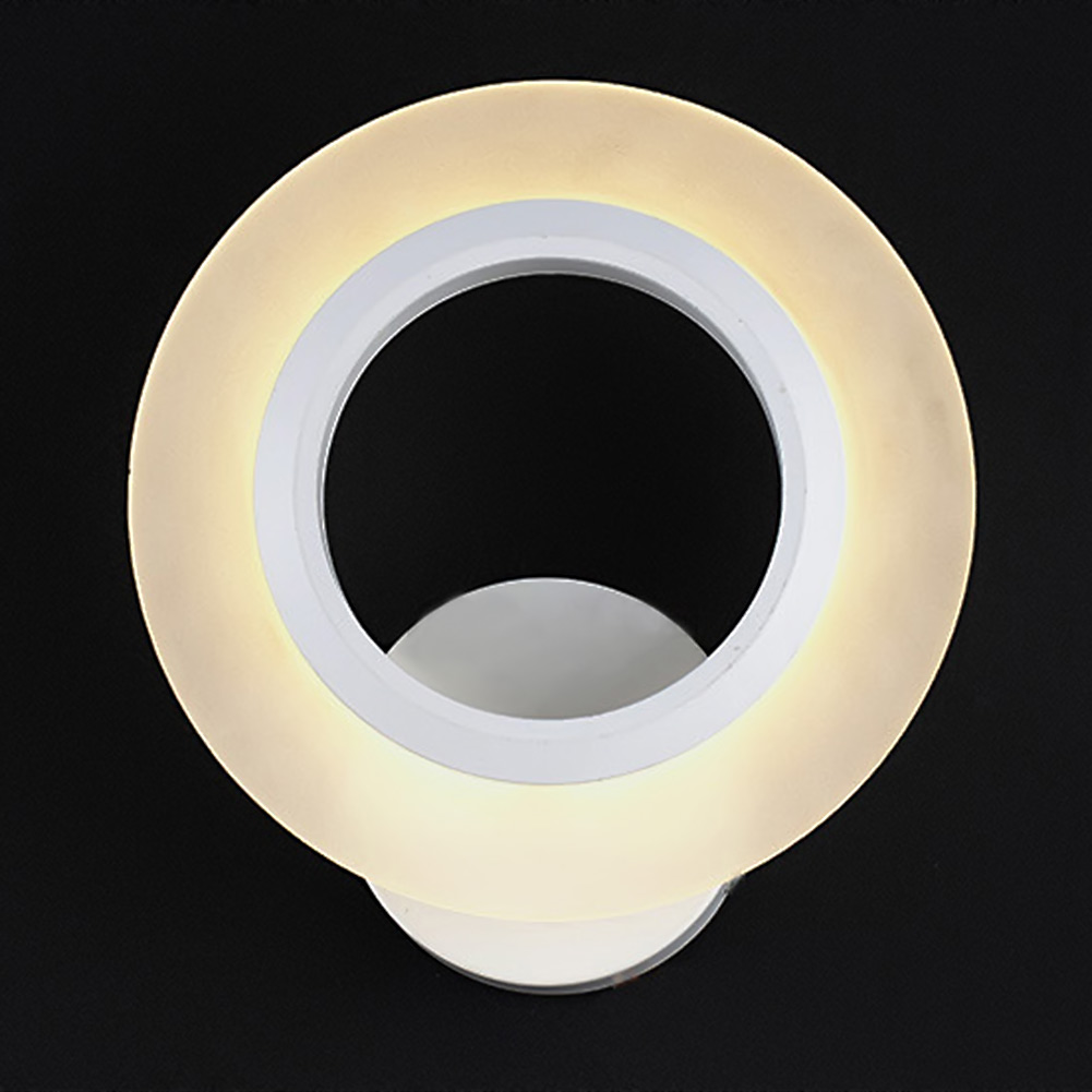 Modern Minimalist Acrylic Wall Lamps SMD LED Creative Circle Wall Lights Bedroom Bedside Lighting Corridor Balcony Stairs Lamp modern minimalist acrylic wall lamps smd led creative circle wall lights bedroom bedside lighting corridor balcony stairs lamp page 10