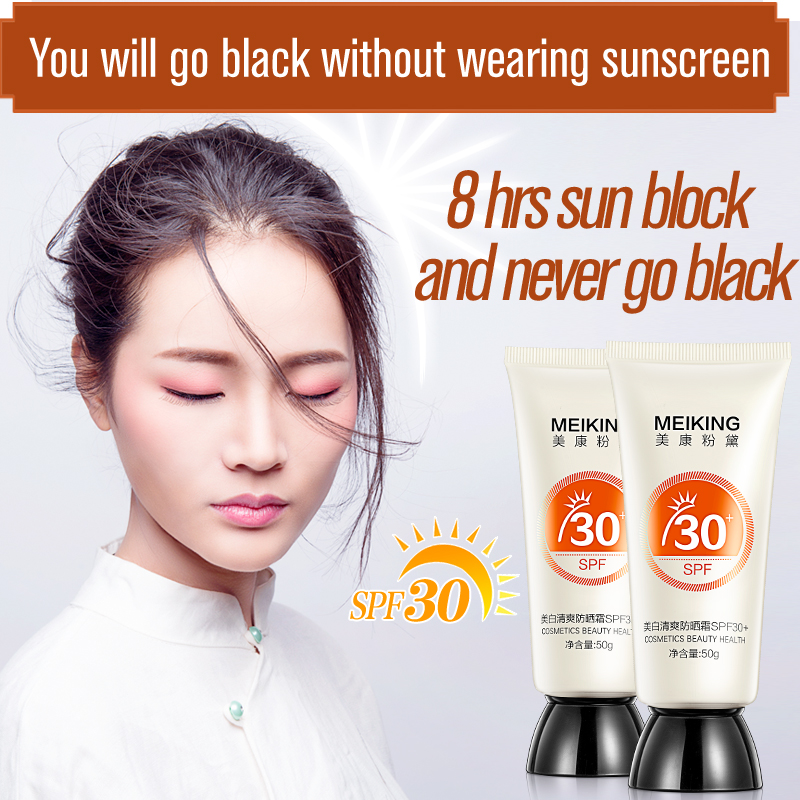 Natural Facial and Body Sunscreen SPF 30 sun cream protection Mineral Based Sunblock Best Natural Lotion With SPFwhitening cream золотые серьги по уху