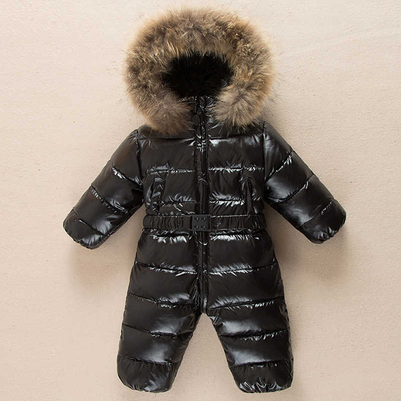 723280fee Detail Feedback Questions about Fur hooded boy girl duck down jacket ...