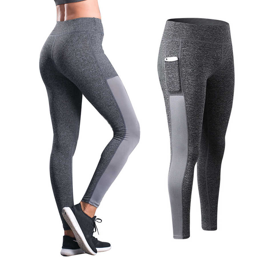 Womens Compression Pants Running Trousers Fitness Leggings Compression Tights Jogging Pants Sexy Hip Lift Up High Waist Leggings