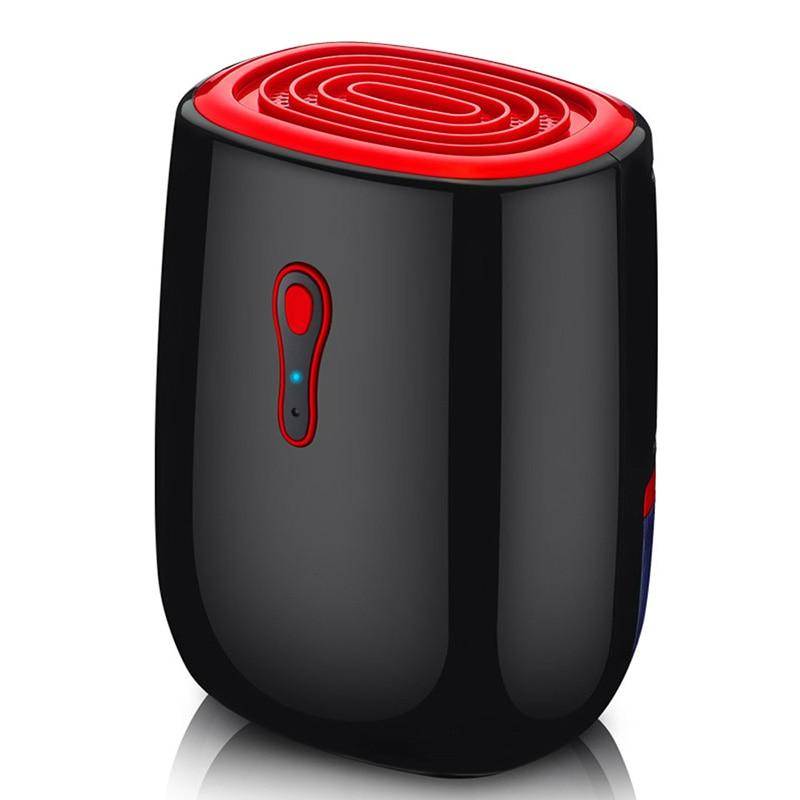 GXZ 500ml Mini Dehumidifier For Home 25W Dehumidifiers Wardrobe Air Dryer Ultra-Quiet Clothes Dryers Moisture Absorber