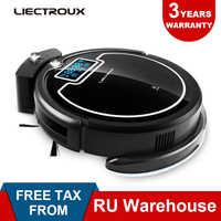 (Entrepôt RU) aspirateur Robot LIECTROUX B2005 PLUS réservoir d'eau humide X900wet, bloqueur virtuel, auto-Charge, lampe UV, écran tactile et tonalité