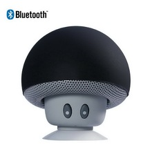 Mini mushroom wireless bluetooth 4.1 altavoz reproductor de mp3 con micrófono portátil blutooth estéreo para el teléfono móvil iphone 7 6 s 6 s plus(China (Mainland))