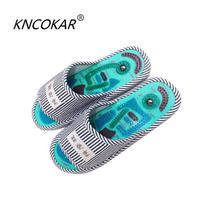 2017 New fashion hot sales Acupoint   slippers   foot shoes household USES indoor cool   slippers   male Summer foot massage shoes
