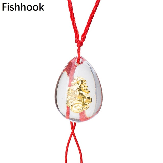 Fishhook Trendy Chinese Style Artificial Horse Successful Symbol