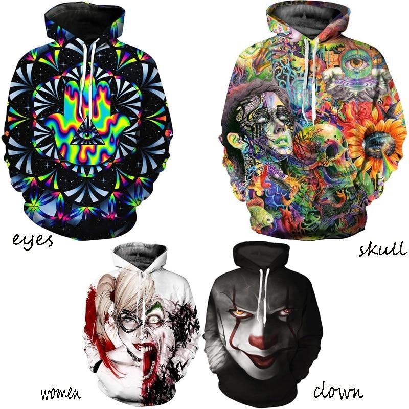 ZOGAA Gothic Sweatshirt Men Leisure 5 Color 3D Hoodies Pullovers Long Sleeve Outerwear Hoodie Hot Sale
