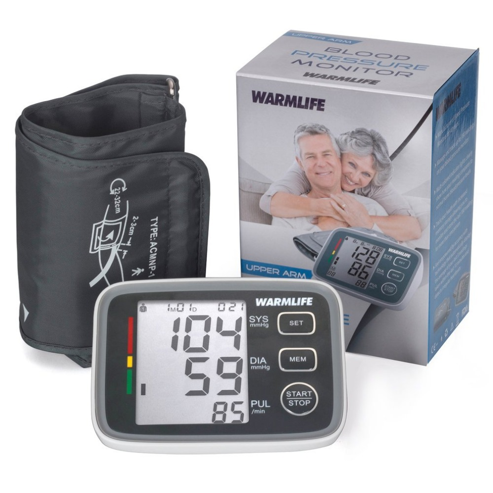Arm Blood Pressure Monitor Health Sphygmomanometer Portable Household Tonometer Digital Arterial Blood Pressure Monitor new home use blood pressure monitor health care heart monitor arm blood pressure monitor sphygmomanometer nonvoice