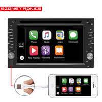 2Din Universal Car DVD player Autoradio carplay 6.2car Radio stereo Bluetooth USB/SD Steering Wheel Control phone Double Din