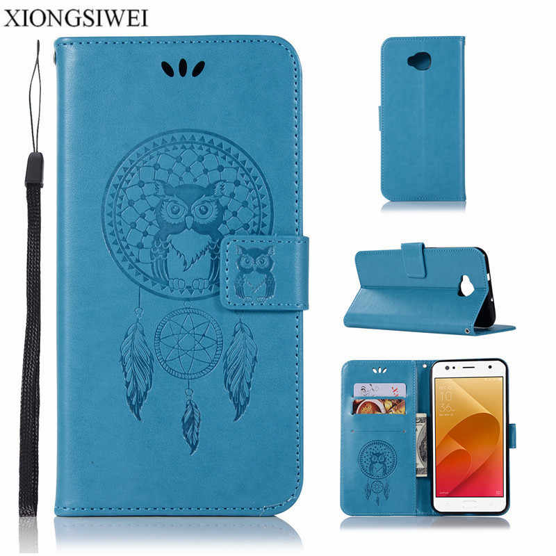a2d3f29df261 Luxury Cartoon Wallet PU Leather Cover Phone Case For Asus ZenFone Live  ZB553KL ZB ZB553 553