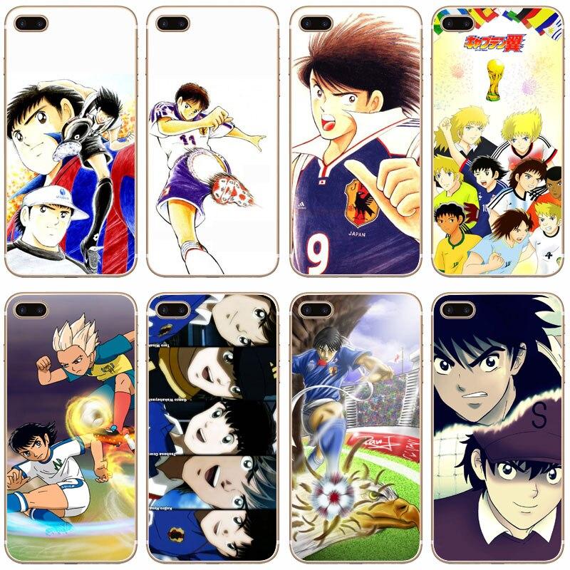 G71 Captain Tsubasa Ozora Genzo Transparent Hard Thin Case Cover For Apple iPhone 4 4S 5 5S SE 5C 6 6S 7 8 X Plus