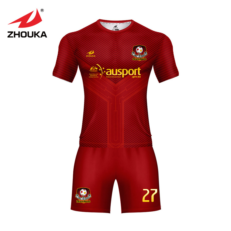 Free shipping cheap sublimated soccer uniform,In stock Football shirt,Football shirt maker jersey