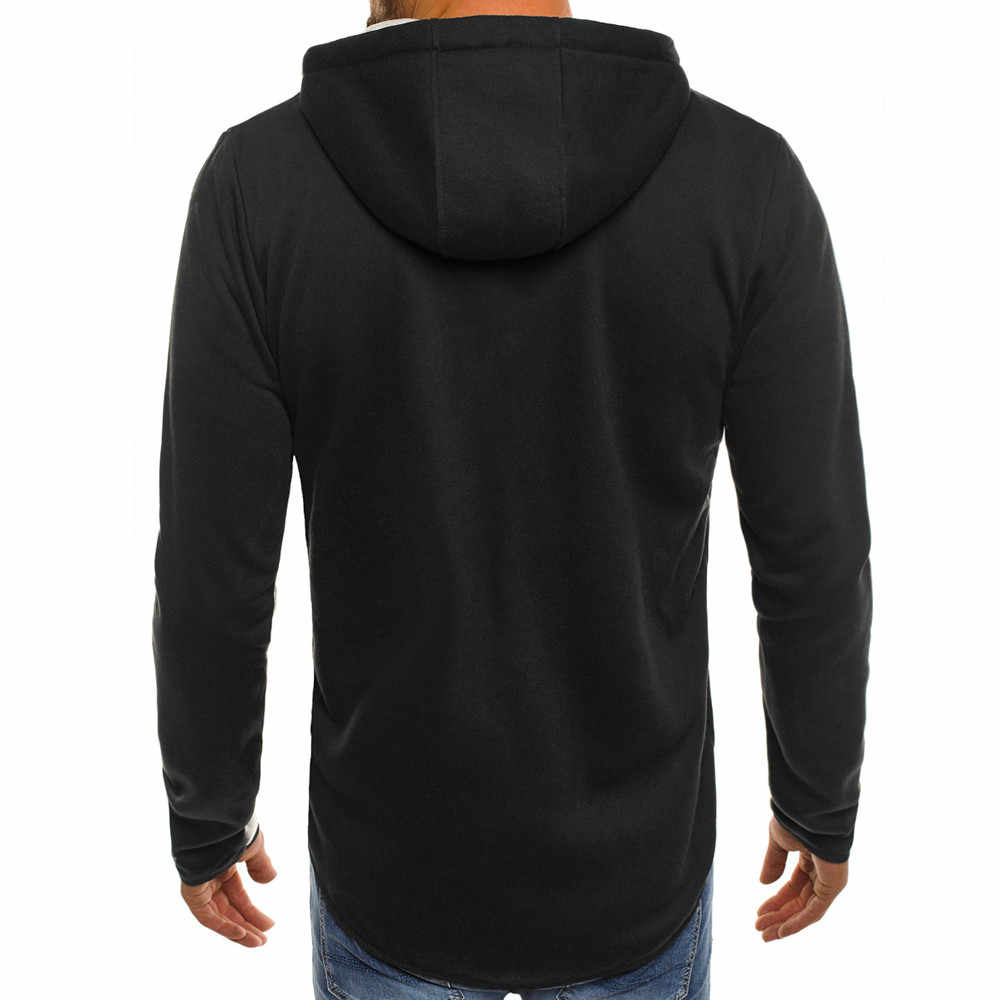 Hoodies Mannen 2019 Fashion Hoodies Merk Mannen Persoonlijkheid Rits Sweatshirt Mannelijke Hoody Trainingspak Hip Hop Herfst Winter Hoodie Mannen
