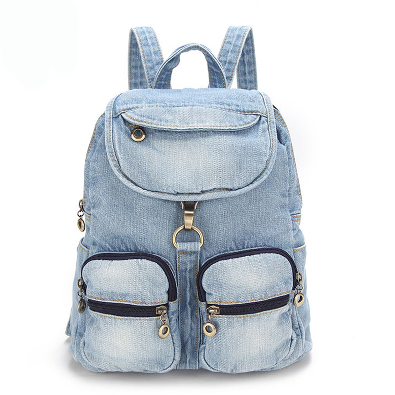 travel backpacks denim bag for women girls shoulder bag Vintage Women Bag school backpacks teenage girls backpack campus bags mara s dream 2018 backpack simple style women pu leather backpacks for teenage girls school bags vintage solid shoulder bag