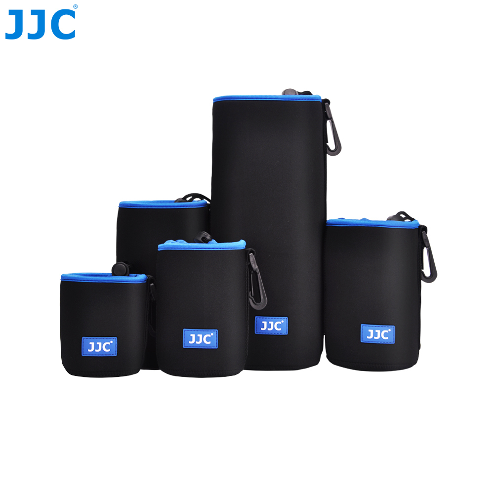 JJC Soft Lens Pouch Neoprene Camera Bag Photo SLR DSLR Case for Canon/Nikon/Olympus/Fujifilm/Sony/Pentax/Panasonic/Leica купить недорого в Москве