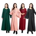 2016 мода парандёу абая мусульманская девушка длинное платье турецкие женской одежды плюс размер дубай арабские djellaba молния платье 4 цвета