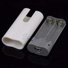 2x 18650 USB Mobile Power Bank Battery Charger Box Case DIY Kit For MP3 iPhone