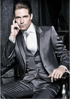 New Design Business formal Suit Tailored Wedding Suits for Men Groomsmen Tuxedos C174