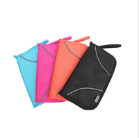Travellers Best Friend Multi Functional Handbag RFID Blocking Purse Passport Cover Travel Credit Card Holder Free