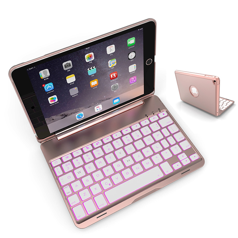 For IPad Mini 1 2 3 Wireless Bluetooth Keyboard Case For IPad Mini 1 2 3