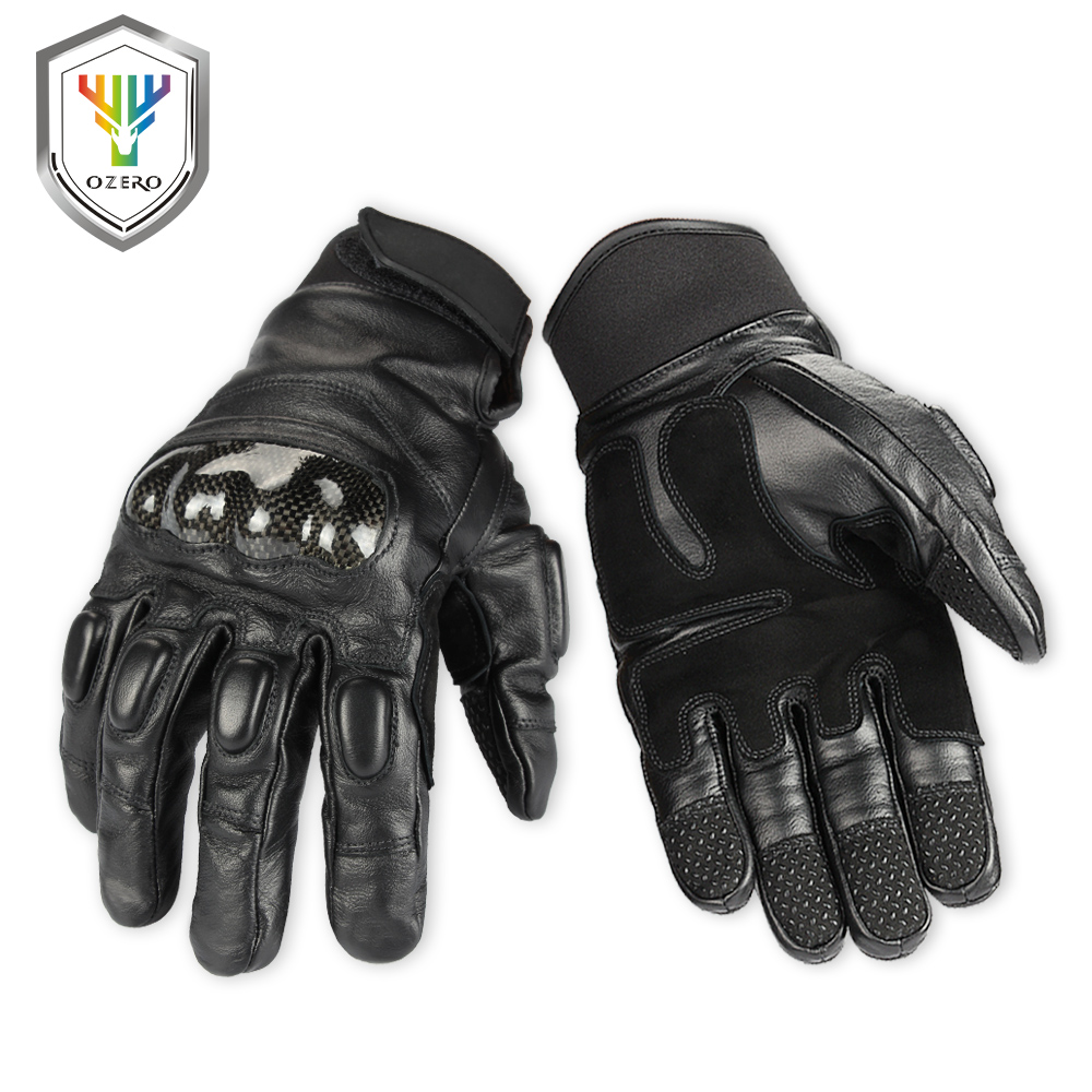 OZERO Men s Work Gloves New Arrival Cowhide Driver Security Protection Wear Safety Workers Welding Hunting